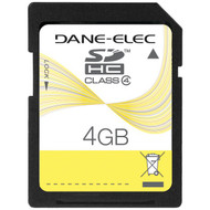DANE-ELEC DA-SD-4096-R SD(TM) Card (4GB) (R-DEMDASD4096)