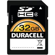 DURACELL DU-SD-32GB-R 32GB Class 4 SDHC(TM) Card (R-DEMDUSD32GBR)