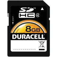 DURACELL DU-SD-8192-R 8GB Class 4 SDHC(TM) Card (R-DEMDUSD8192R)
