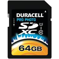 DURACELL DU-SDHS64G-R 64GB Class 10 SDXC(TM) Card (R-DEMDUSDHS64GR)