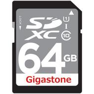 GIGASTONE GS-SDXCU164G-R Class 10 UHS-1 Card (SDXC(TM); 64GB) (R-DEMSDXCU164GR)