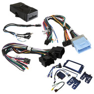 Crux Radio Replacement W/Swc Retention For Gm Lan-11 Bit Vehicles (Dash Kit Included) (R-DKGM51)