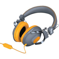 DREAMGEAR DGHM-5516 HM-260 Headphones with Microphone (Orange) (R-DRM5516)
