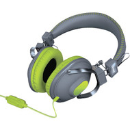 DREAMGEAR DGHM-5517 HM-260 Headphones with Microphone (Green) (R-DRM5517)