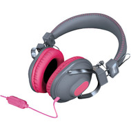 DREAMGEAR DGHM-5520 HM-260 Headphones with Microphone (Pink) (R-DRM5520)