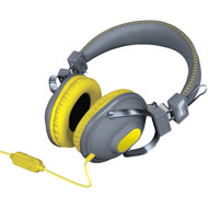 DREAMGEAR DGHM-5523 HM-260 Headphones with Microphone (Yellow) (R-DRM5523)