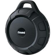 ISOUND ISOUND-6704 DuraTunes Water-Resistant Bluetooth(R) Speaker (Black) (R-DRM6704)