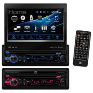 Dual DV737MB DVD Receiver with Built-In Bluetooth and 2-Way DualMirror (R-DV737MB)