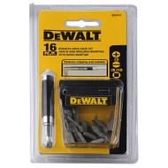 DeWalt 16 Piece Drive Gude Set w/Phillips #2 Bits (R-DW2053CS)
