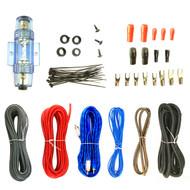 Enrock Complete 8 Gauge Amplifier Wiring Installation Kit (R-EAKIT8G-1)