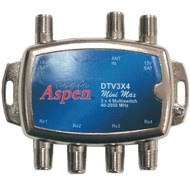 EAGLE ASPEN DTV3X4 DIRECTV(R)-Approved 3-In x 4-Out Multiswitch (R-EASDTV3X4)
