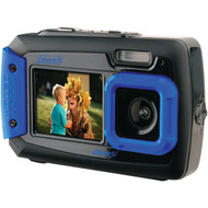 COLEMAN 2V9WP-BL 20.0-Megapixel Duo2 Dual-Screen Waterproof Digital Camera (Blue) (R-ELB2V9WPBL)