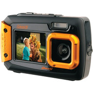 COLEMAN 2V9WP-O 20.0-Megapixel Duo2 Dual-Screen Waterproof Digital Camera (Orange) (R-ELB2V9WPO)