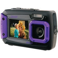 COLEMAN 2V9WP-P 20.0-Megapixel Duo2 Dual-Screen Waterproof Digital Camera (Purple) (R-ELB2V9WPP)
