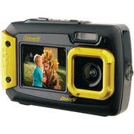 COLEMAN 2V9WP-Y 20.0-Megapixel Duo2 Dual-Screen Waterproof Digital Camera (Yellow) (R-ELB2V9WPY)