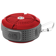 COLEMAN CBT11-R Aktiv Sounds(TM) Waterproof Bluetooth(R) Speaker (Red) (R-ELBCBT11R)