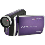 BELL+HOWELL DV30HD-P 20.0-Megapixel 1080p DV30HD Fun Flix(R) Slim Camcorder (Purple) (R-ELBDV30HDP)