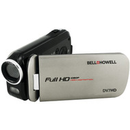 BELL+HOWELL DV7HD-GY 16.0-Megapixel Slice II DV7HD Ultraslim 1080p HD Camcorder (Gray) (R-ELBDV7HDGY)