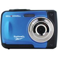 BELL+HOWELL WP10-BL 12.0-Megapixel WP10 Splash Waterproof Digital Camera (Blue) (R-ELBWP10BL)
