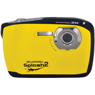 BELL+HOWELL WP16-Y 16.0-Megapixel WP16 Splash2 HD Waterproof Digital Camera (Yellow) (R-ELBWP16Y)