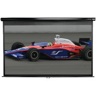 "ELITE SCREENS M150UWH2 Manual Series Pull-down Screen (150""; 73.5"" x 130.7""; 16:9 HDTV Format) (R-ELTM150UWH2)"
