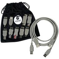 RETRAK_EMERGE ETCABLEKIT6 USB 2.0 Universal Cable Adapter Kit (R-EMTCABLEKIT6)