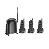 Industrial Cordless Phone System With 2-way Radio (R-ENGENIUS3F1KIT)