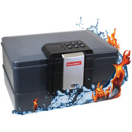 FIRST ALERT 2602DF Waterproof Fire Chest with Digital Lock (0.39 Cubic Ft) (R-FATS2602DF)