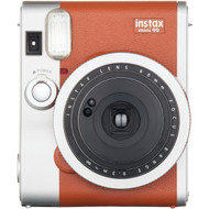 FUJIFILM 16423917 Instax(R) Mini 90 Classic Instant Camera (Brown) (R-FDC16423917)