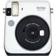 FUJIFILM 16496043 Instax(R) Mini 70 Instant Camera (White) (R-FDC16496043)