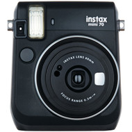 FUJIFILM 16513906 Instax(R) Mini 70 Instant Camera (Midnight Black) (R-FDC16513906)