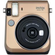 FUJIFILM 16513920 Instax(R) Mini 70 Instant Camera (Stardust Gold) (R-FDC16513920)