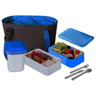Cookinex 17Pc Lunch Box Set (Blue) (R-FL95B)