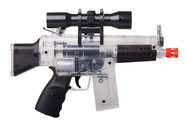 Game Face M74 (Clear)Dual Power Mini Aeg Rifle (R-GFAPM74DPC)