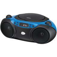 GPX BC232BU Sporty CD & Radio Boom Box (Blue) (R-GPXBC232BU)