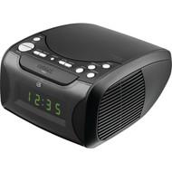 GPX CC314B Dual Alarm CD Clock Radio (R-GPXCC314B)
