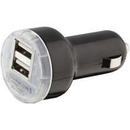ILIVE IAC32B 1-Amp Dual-USB Car Charger (R-GPXIAC32B)