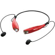 ILIVE iAEB25R Bluetooth(R) Neckband & Earbuds (Red) (R-GPXIAEB25R)