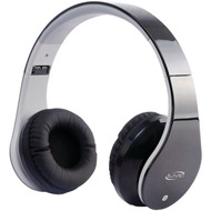 ILIVE BLUE iAHB64B Bluetooth(R) Headphones with Microphone (Black) (R-GPXIAHB64B)