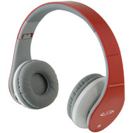 ILIVE BLUE iAHB64R Bluetooth(R) Headphones with Microphone (Red) (R-GPXIAHB64R)