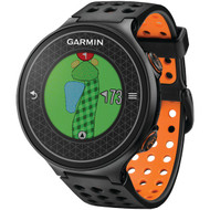 GARMIN 010-01195-02 Approach(R) S6 Golf GPS Watch (Black/Orange) (R-GRM0119502)