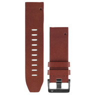 GARMIN 010-12496-05 fenix(R) 5S QuickFit(TM) Leather Watch Band (22mm; Brown) (R-GRM1249605)