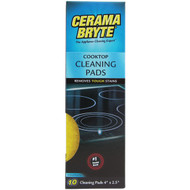 CERAMA BRYTE 29106 Ceramic Cooktop Cleaning Pads, 10 pk (R-GVI29106)