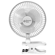 "COMFORT ZONE CZ6C 6"" Clip-On Fan (R-HBCCZ6C)"