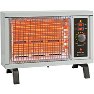 COMFORT ZONE CZ550 1,500-Watt Radiant Electric Heater (R-HBCLCZ550)