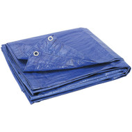 HOWARD BERGER V1216 Reinforced Plastic Tarp (12ft x 16ft) (R-HBCLV1216)