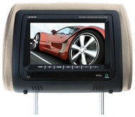 "Boss 7"" Headrest Monitor Remote 3 Color Skins (R-HIR70BGTM)"