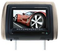 "Boss 7"" Headrest Monitor Remote 3 Color Skins (R-HIR70BGTM)"