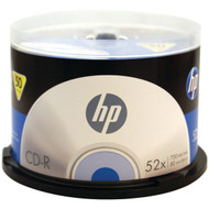 HP CR52050CB 52x CD-Rs, 50-ct Cake Box Spindle (R-HOOCR52050CB)