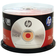 HP DM16050CB 4.7GB 16x DVD-R (50-ct Cake Box Spindle) (R-HOODM16050CB)